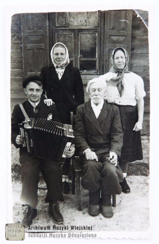 Родинне фото. Велика Глуша.1940 р.