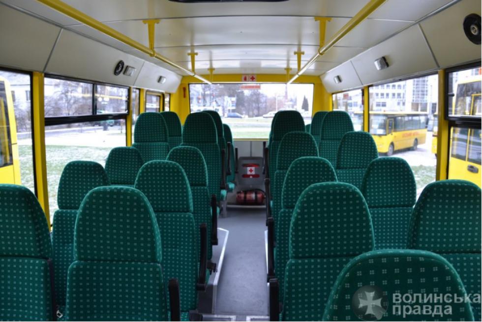 Так виглядає автобус зсередини