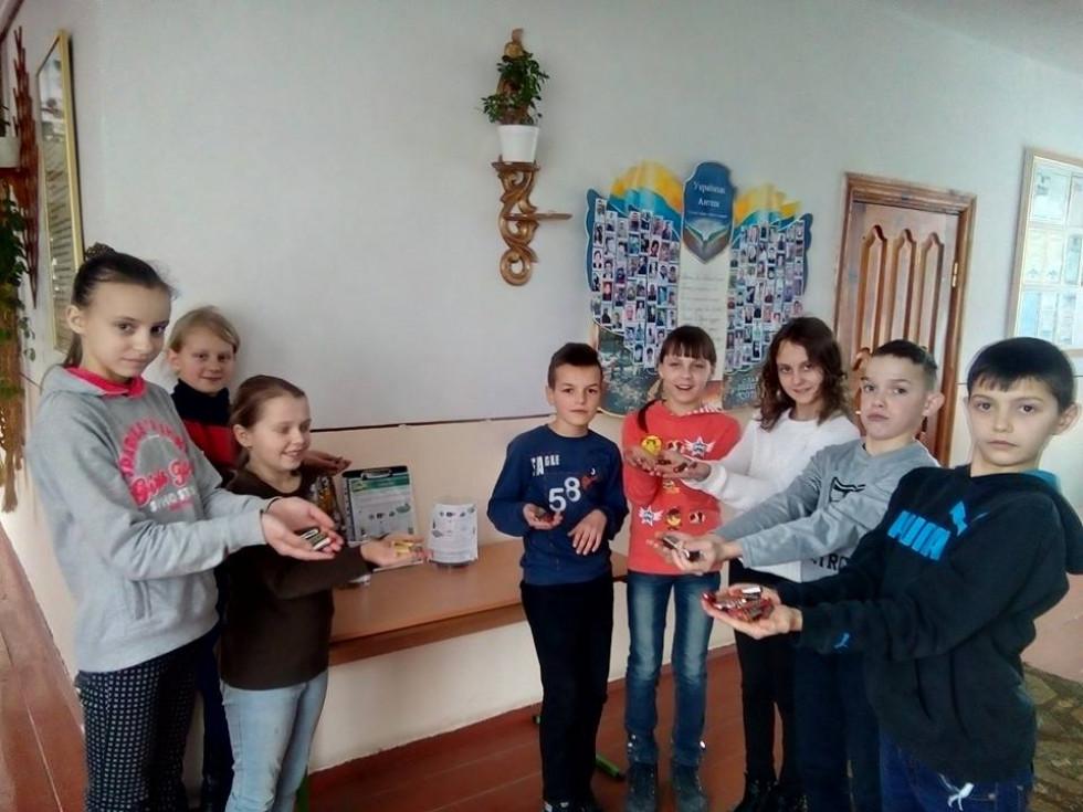 Школярі активно долучились до акції «Батарейка»