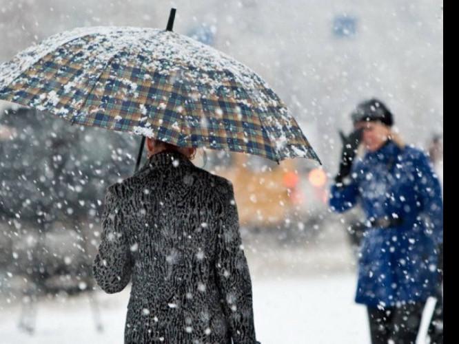 Прогнозують дрібний дощ зі снігом