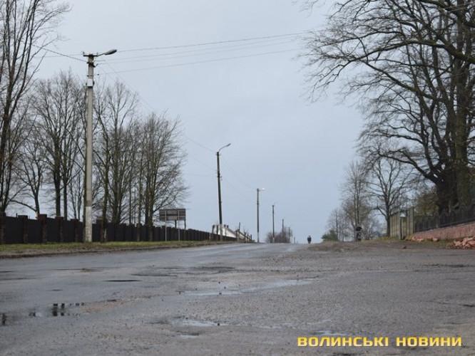 Любешівські дороги невдовзі можуть відремонтувати
