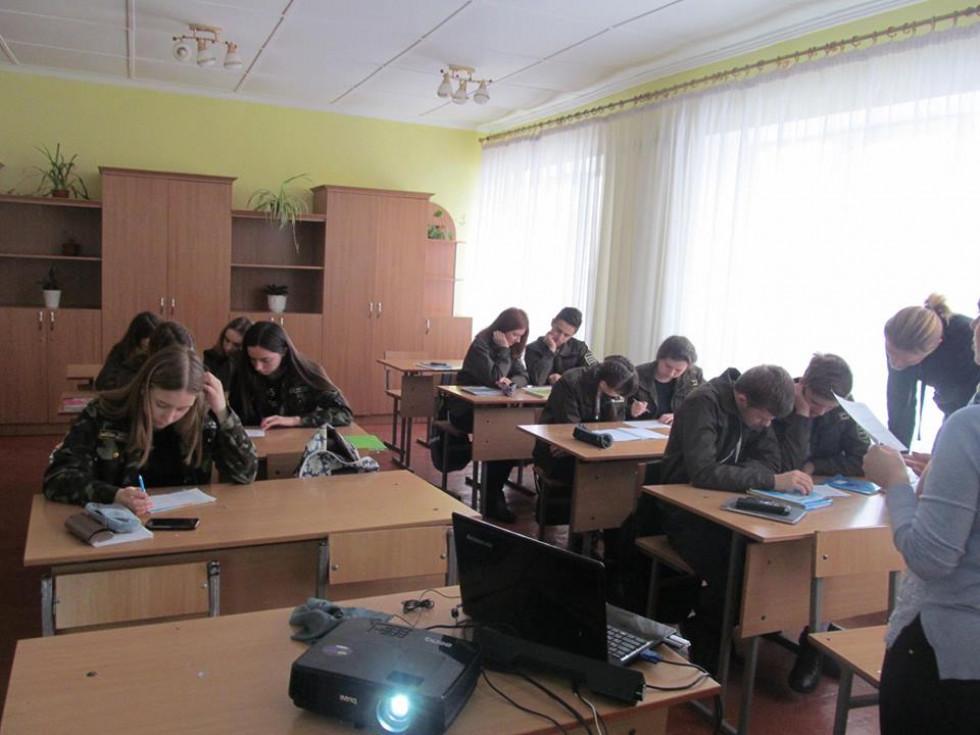 Екозахід у Любешівському  учнівському лісництві