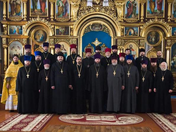 Любешівське благочиння 2017
