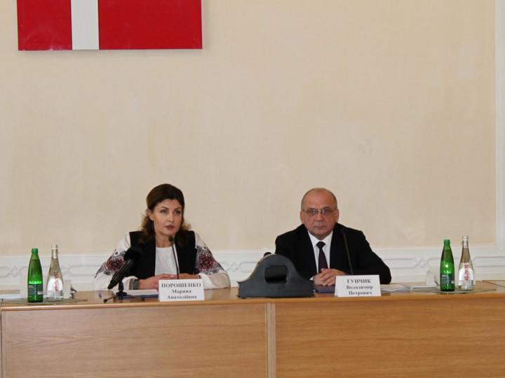 Марина Порошенко та Володимир Гунчик