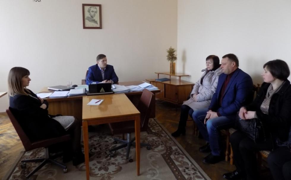 Виїзний прийом Сергія Кошарука у Любешові