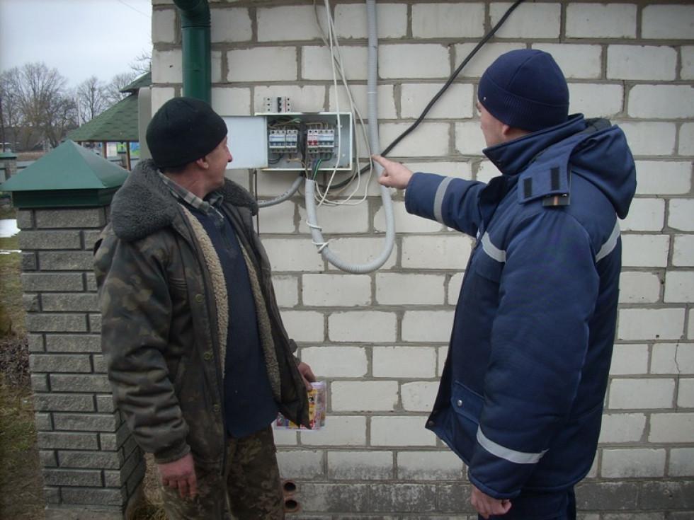 Профілактичний рейд у селі Залізниця