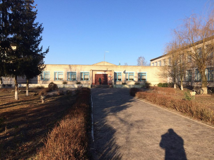 Школа у селі Бірки