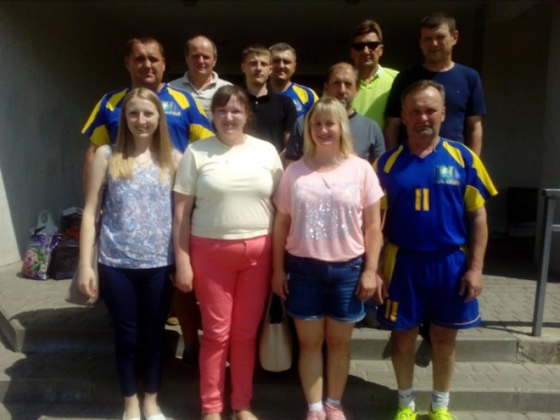 Любешівська команда