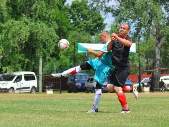 фінальний матч «Кубка лісівників Волині з футболу»