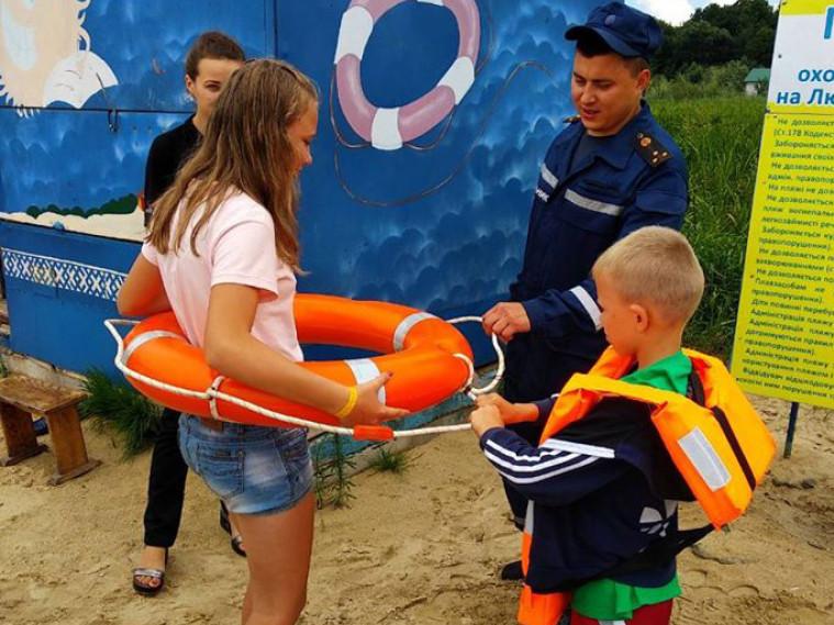 Правоохоронці розповіли дітям, як безпечно поводитись на водоймах