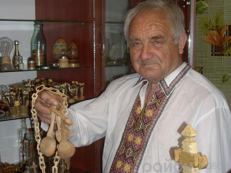 Голова Любешівського  районного відділення Українського фонду культури Валентин Поліщук