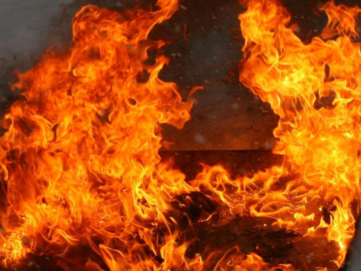 Пожежа в Любешеві, фото ілюстративне