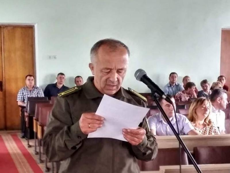 Виступає представник лісгоспу Василь Котик