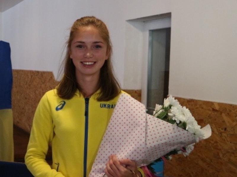 Олімпійська надія Любешівщини Дарина Касян