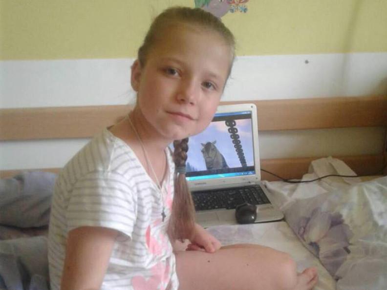 Дев'ятирічній Поліні потрібна допомога