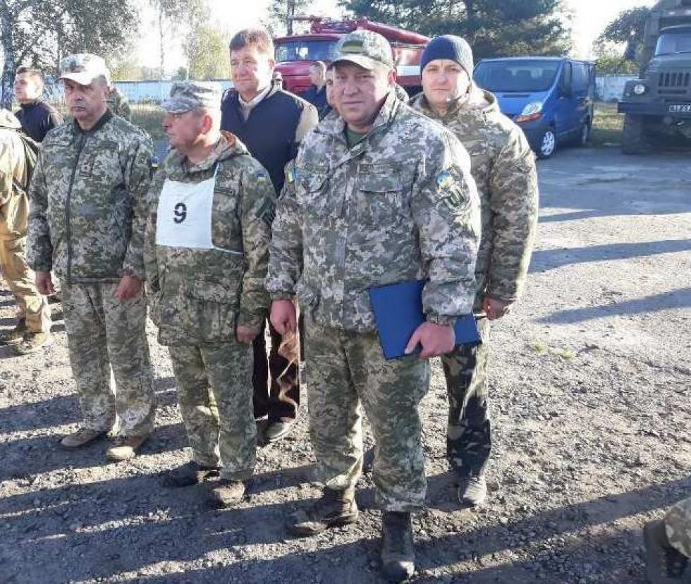 Команда Любешівського району