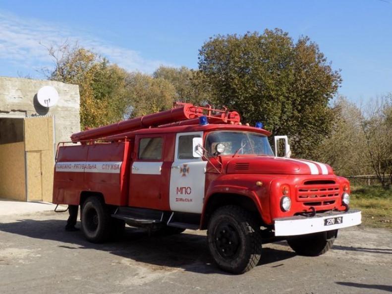 Сільський пожежний автомобіль