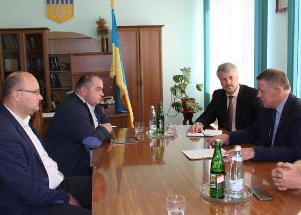 Зустріч у  стінах Любешівської райдержадміністрації