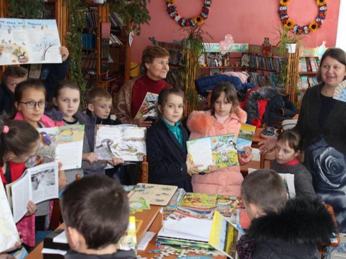 У Публічній бібліотеці Любешева