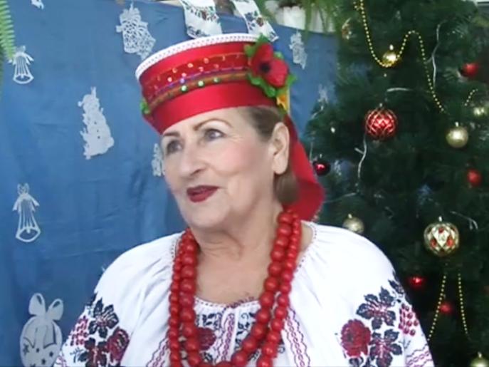 Ніна Дащенко, учасниця інва-вечорниць