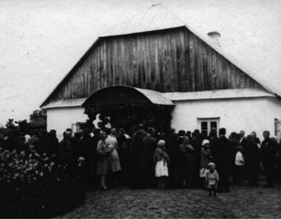 Костел у Великій Глуші, 1930 р.