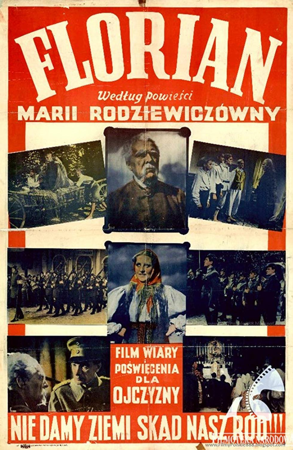 Афіша фільму «Флоріан», 1938 р.