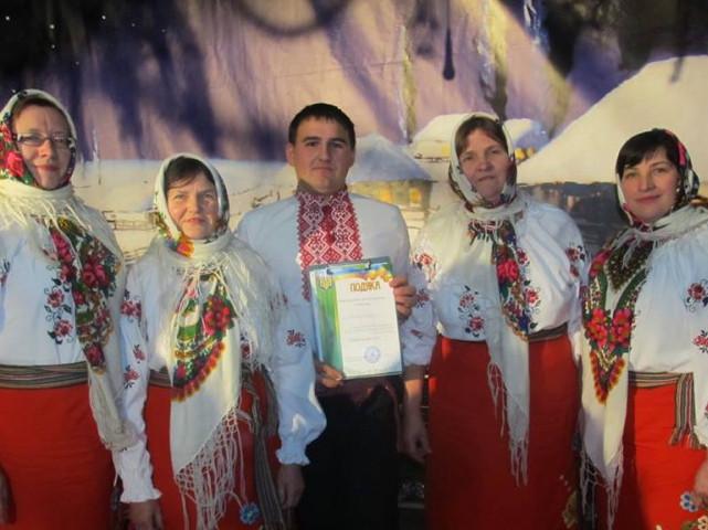 Учасники художньої самодіяльності села Залізниця