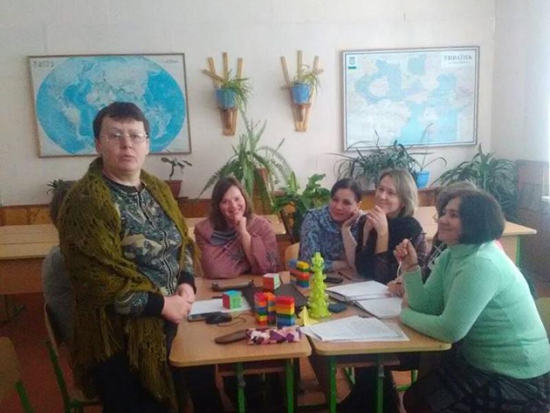 Засідання педагогічної студії в Люб'язі