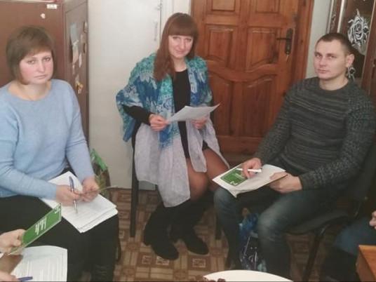 Учасники семінару-наради в Любешівському РВ ДРАЦС