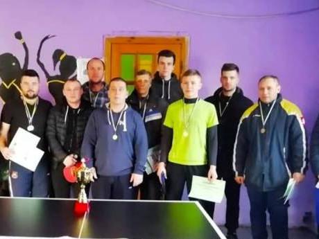 Кращі тенісисти Любешівщини