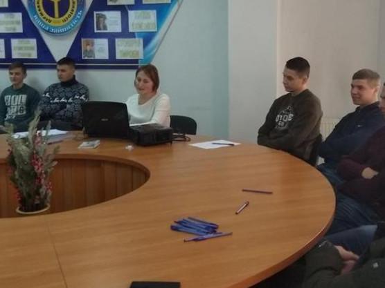 Любешівські студенти на семінарі-тренінгу
