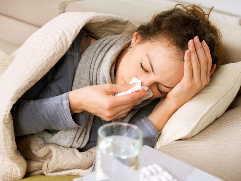 Понад 46%: у Любешівському районі захворюваність на ГРВІ перевищує епідемічний поріг