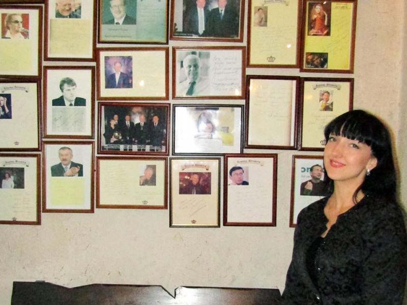 Голова літературно-мистецької студії Олеся Ющишин