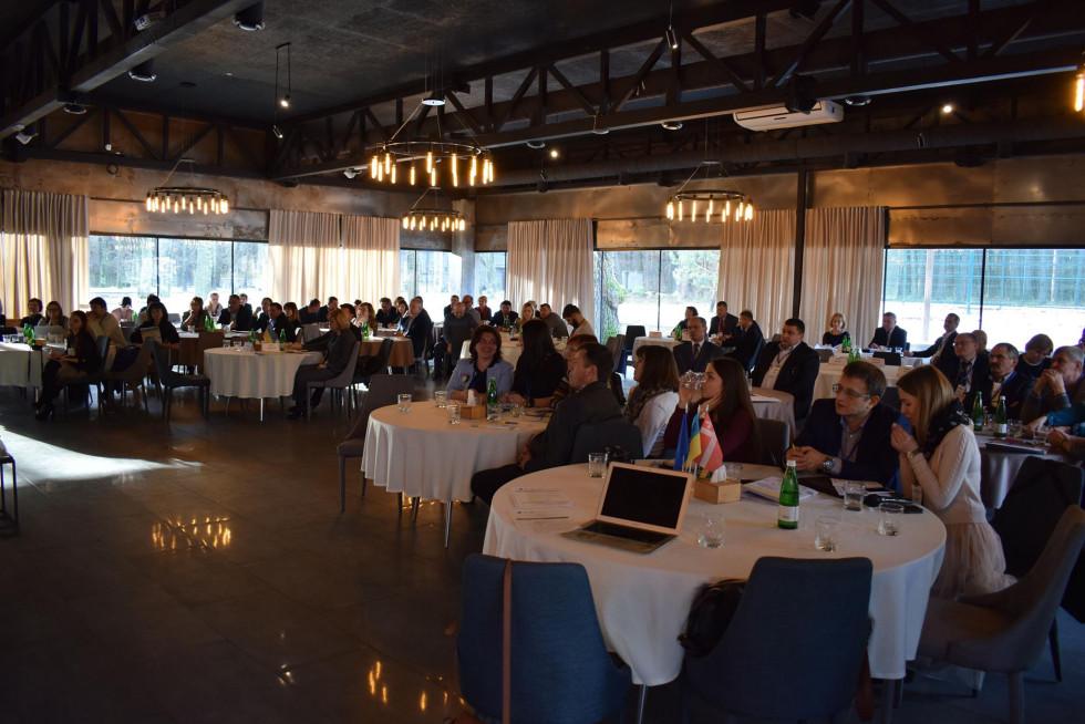 Учасники форуму «Регіональний розвиток Волині в контексті децентралізації»