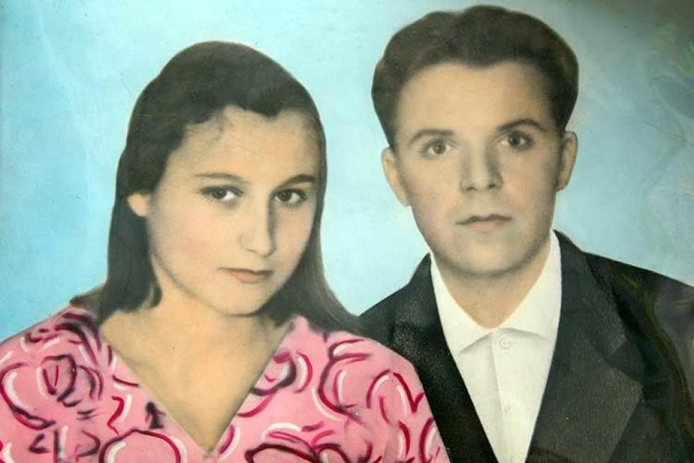 У 16 років вийшла заміж за Корнія Фесика