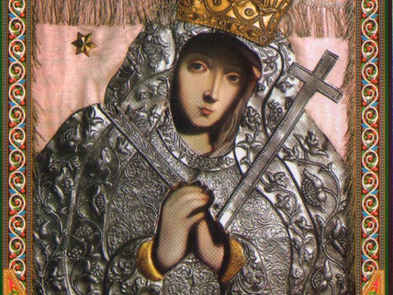 Ікона Бучинської чудотворної Божої Матері