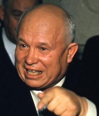 Перший секретар ЦК КПРС Микита Хрущов