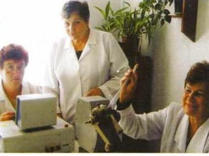 У лабораторії Любешівській санстанції
