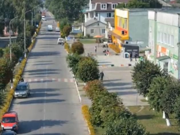 Центральна вулиця Любешева