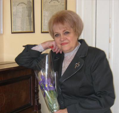 Валентина Мацерук, вдова письменника