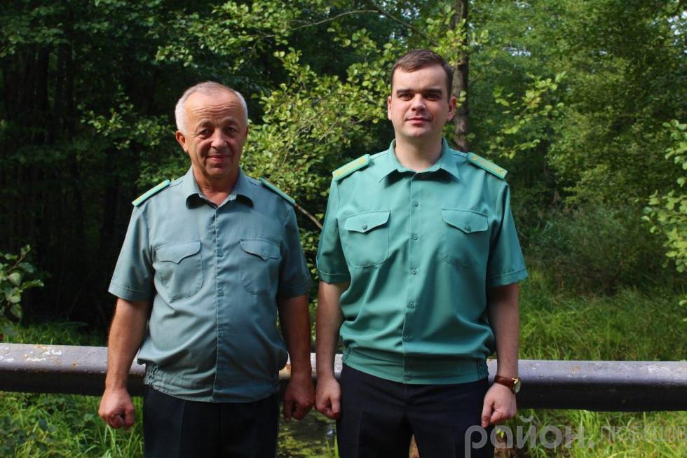 Віктор Котик з батьком Василем