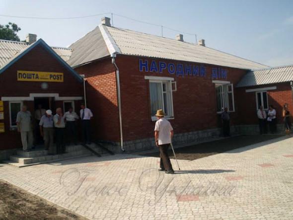 У центрі села Мукошин