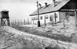 Типовий табір у Воркуті