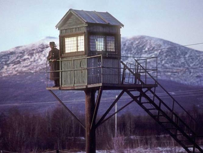 Сторожова вежа у виправно-трудовому таборі